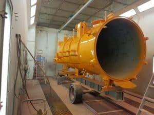 Industrielackierung - Kanalspüler
