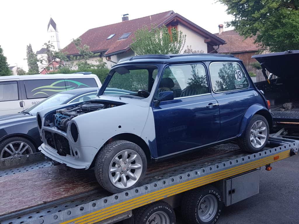 Mini Cooper - Neuaufbau