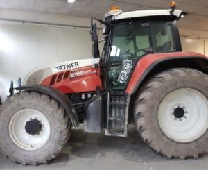 Steyr 6195 CVT Vorher